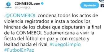 Conmebol repudia los hechos de violencia en el hotel donde concentra Independiente