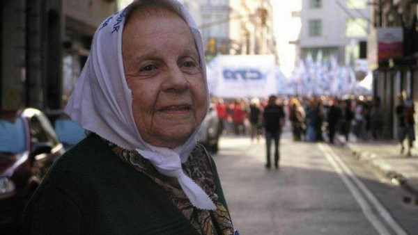Falleció Carmen Lapacó, integrante de Madres de Plaza de Mayo Línea Fundadora