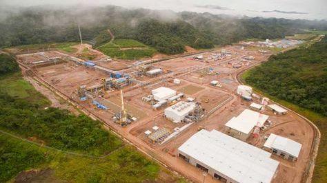 Campo gasífero y la planta Incahuasi en Santa Cruz.