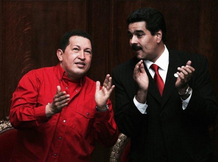 Chávez y Maduro, en una foto de 2007. (Getty Images)