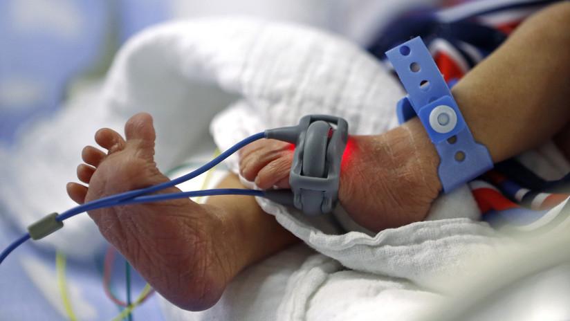 Nació un bebé con el corazón fuera de su cuerpo