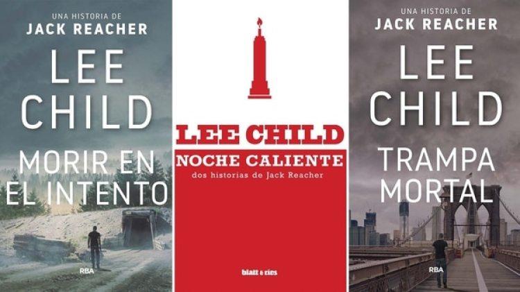 Algunos libros de Lee Child