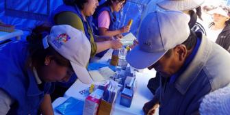 Ferias de salud se replicarán en el país para contrarrestar paro médico