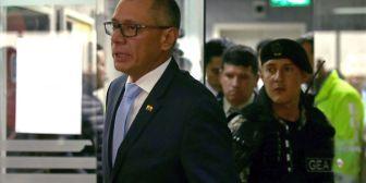 Ecuador: admiten a trámite pedido de inicio de juicio político al vicepresidente Jorge Glas