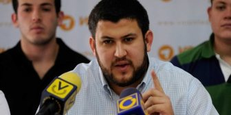 """David Smolansky, desde el exilio: """"El régimen de Nicolás Maduro es una amenaza para cientos de millones de latinoamericanos"""""""