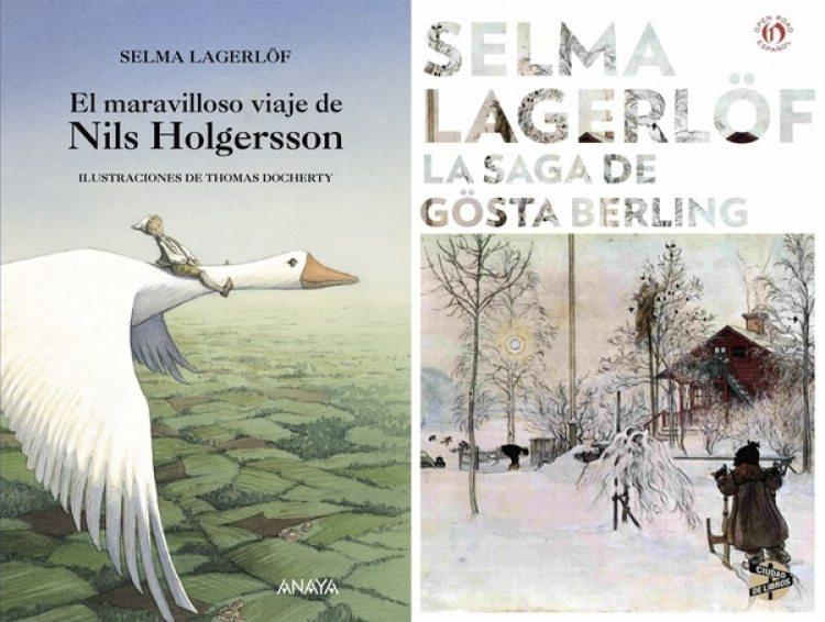 """""""El maravilloso viaje de Nils Holgerssony"""" y """"La saga de Gösta Berling"""", dos obras imprescindibles de Lagerlöf"""