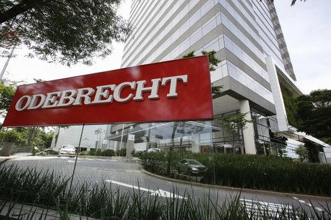 Fachada de la constructora brasileña Odebrecht.