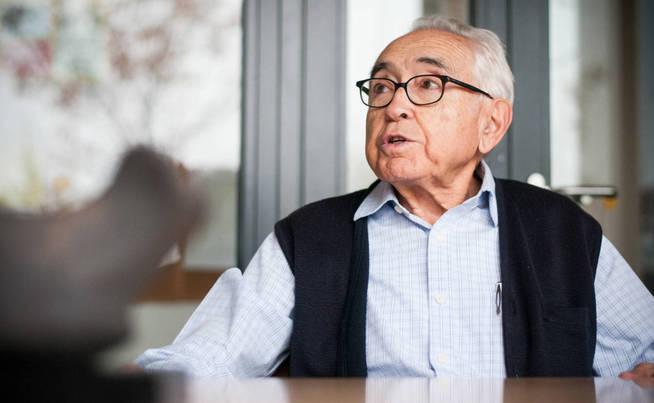 Antonio Zugasti, expresidente de Trabensol, no quiere ser un abuelo-maleta. (Carmen Castellón)