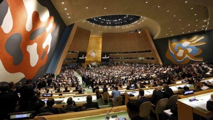 La Asamblea General de la ONU (Reuters)