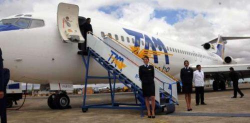 TAM pagó 998 mil dólares por reparación de un avión