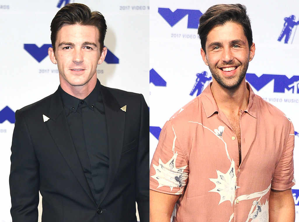 Drake Bell, Josh Peck, MTV Video Music Awards 2017