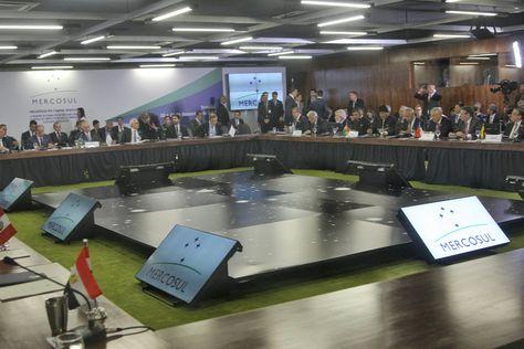La 51 Cumbre de Jefes de Estado del Mercosur que se desarrolló en Brasilia.