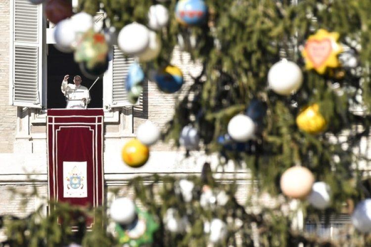 El domingode nochebuena el Papa celebrará la misa de gallo (AFP)