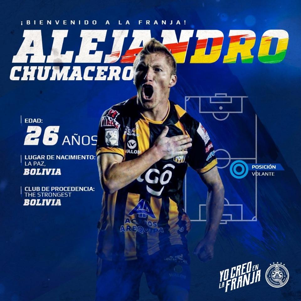 Puebla da la bienvenida a Chumacero