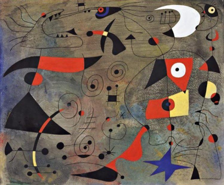 """""""Mujer y pájaros"""" (1940)"""