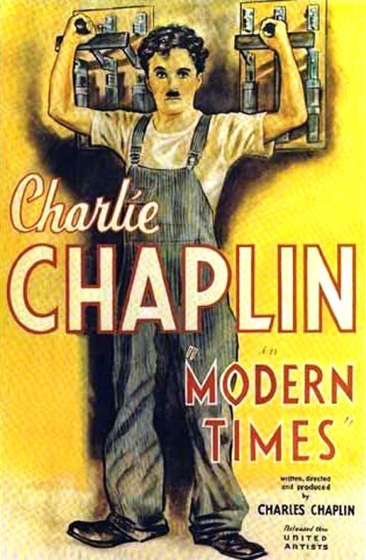"""""""Tiempos modernos"""" (1936)"""