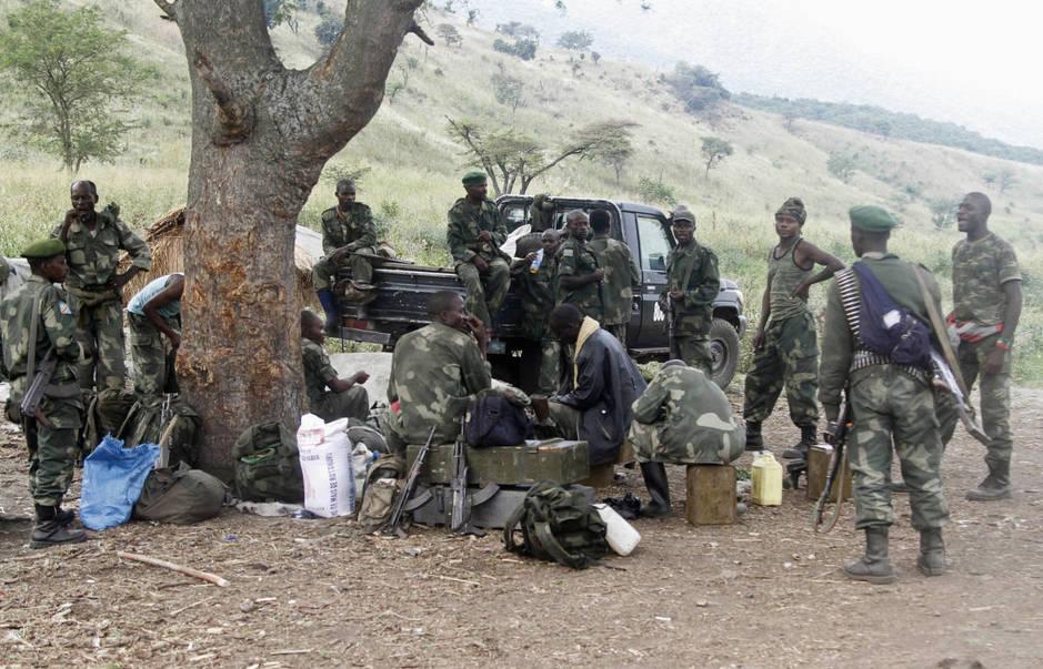 Soldados congoleños en 2015. (Reuters)