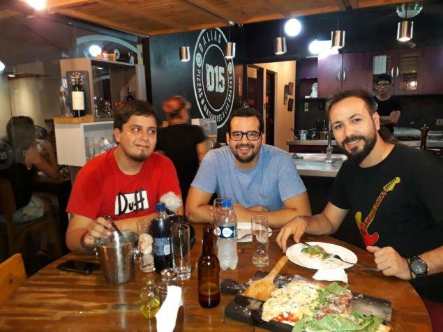John Orozco, Jinny Ballivian y Michael Balbuena