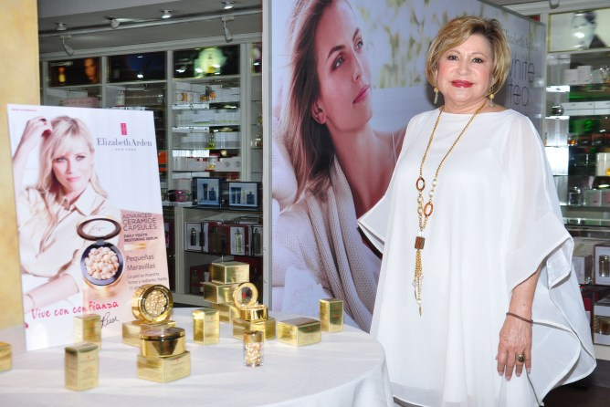 Norma Rodriguez, Country Manager Elizabeth Arden