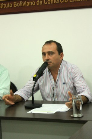 Reinaldo Diaz, presidente del IBCE
