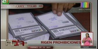 Video titulares de noticias de TV – Bolivia, mediodía del viernes 1 de diciembre de 2017