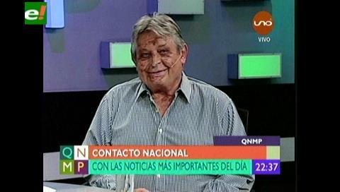 """Jaime Paz: """"Las elecciones judiciales fueron un segundo 21-F"""""""