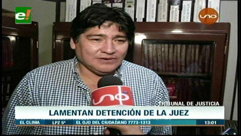 TDJ: Lamentan detención de juez por falsificación