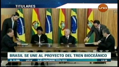 Video titulares de noticias de TV – Bolivia, mediodía del martes 5 de diciembre de 2017