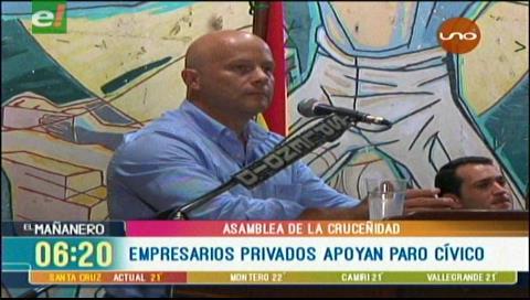 La Cadex y los ganaderos apoyan un paro cívico en Santa Cruz