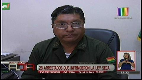 Romería: 28 personas fueron arrestadas en Cotoca