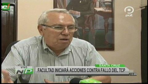 Uagrm: Facultad de Ciencias Jurídicas iniciará acciones legales contra fallo del TCP
