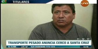 Video titulares de noticias de TV – Bolivia, mediodía del lunes 11 de diciembre de 2017