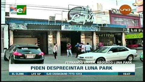 Muerte de joven universitario: Piden desprecintar la discoteca Luna Park