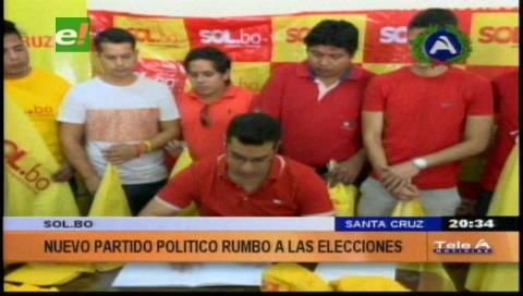 Recolectan firmas de militantes: Sol.BO ingresa a Santa Cruz