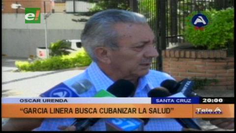 """Urenda: """"El Gobierno pretende cubanizar la medicina"""""""
