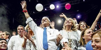 Sebastián Piñera supera a Guillier por amplio margen y retorna a La Moneda