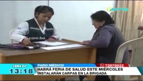 Instalarán una feria de salud en la Brigada Parlamentaria de Cochabamba