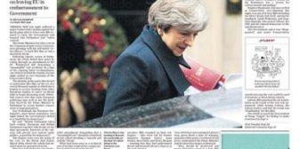 Portadas de la prensa internacional del jueves 14 de diciembre de 2017