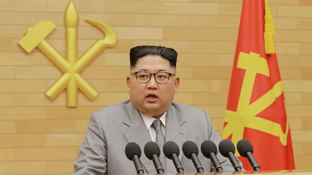 El líder norcoreano envió un mensaje por el año nuevo por cadena nacional
