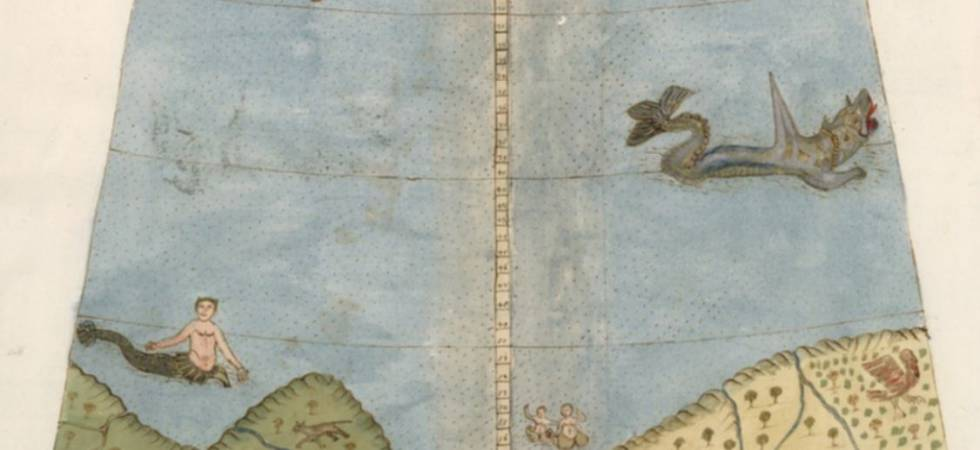 Un mapa colosal para perderse en el siglo XVI