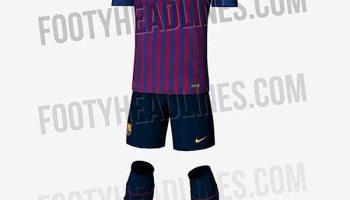Se filtró la nueva camiseta del Barcelona  el detalle catalán y las  diferencias con el e1d21988b9d