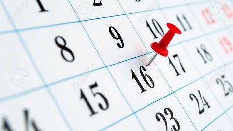 Feriados en el calendario nacional.