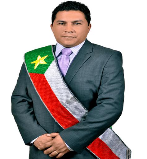 El alcalde de Cobija, Luis Gatty Ribeiro.