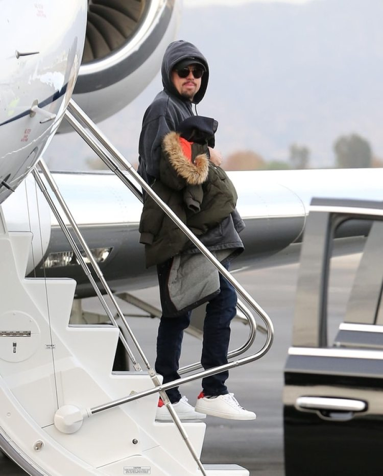 Leonardo DiCaprio y Camila Morrone disfrutaron de unas vacaciones en Aspen (Grosby Group)