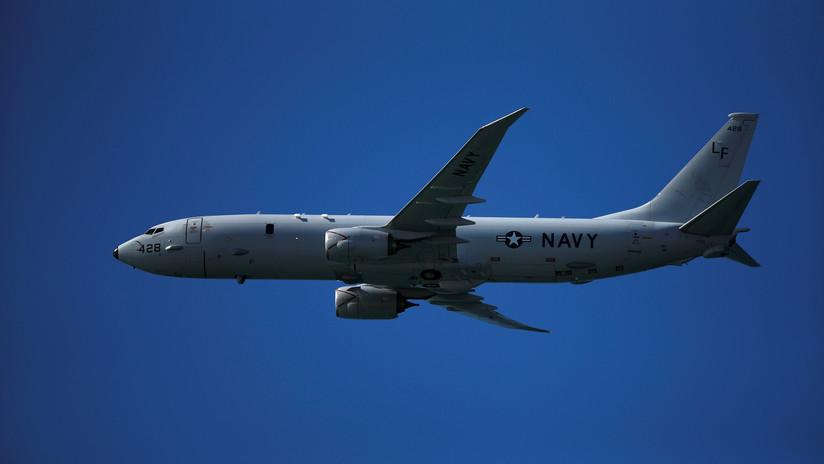 Un avión de EE.UU. realiza una misión de reconocimiento cerca de la frontera de Rusia