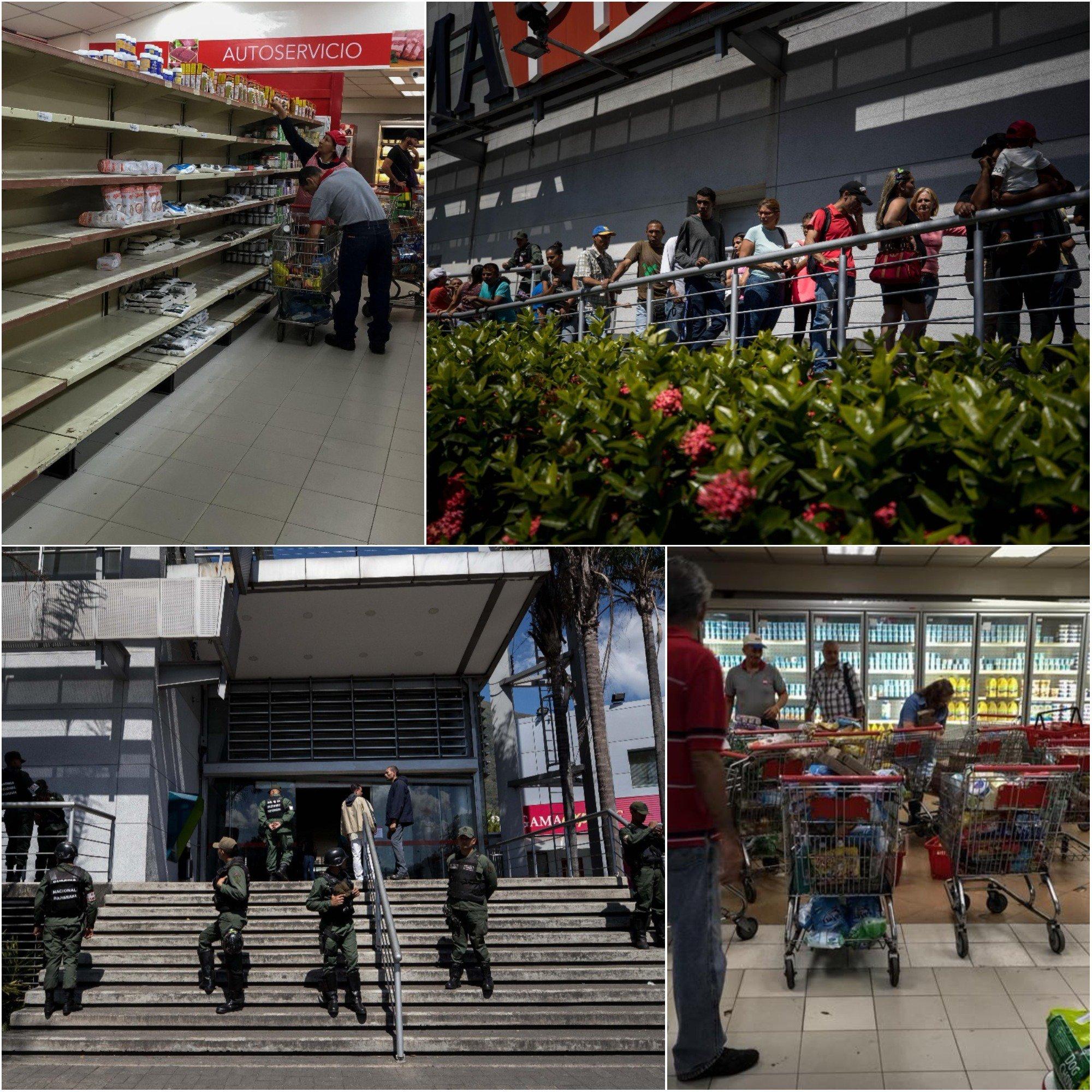 Colas supermercados