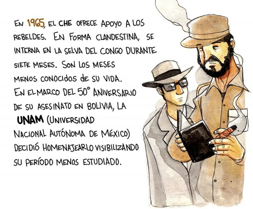 Muestra del Che en Mexico (2)