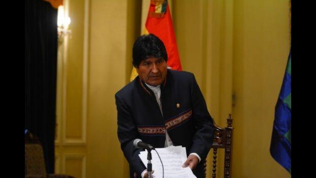 Morales anuncia acción para restablecer atención médica a bolivianos
