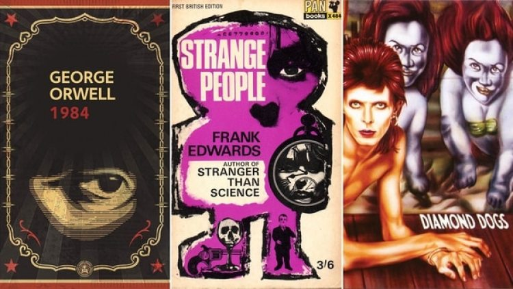 """1984 ""y ""Strange People"", libros que influenciaron para crear ""Diamond dogs"""