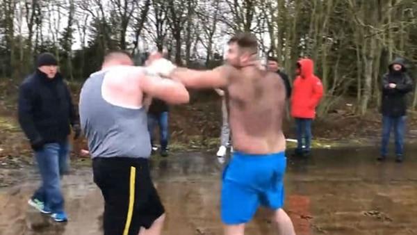 Hulk vs Pie Grande, la brutal pelea clandestina que impactó YouTube